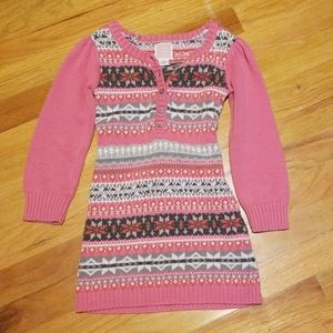 Girl's knit dress
